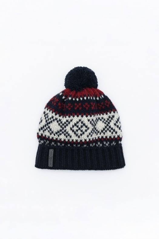 Raštuota kepurė su kutu