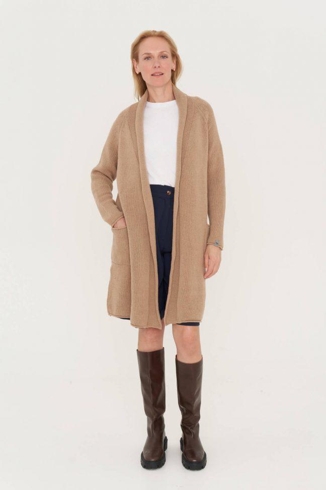 natūralios merino vilnos megztinis